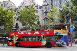 バルセロナ ツーリストバス